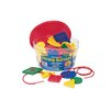 Learning Resources Attribute Lacing Buttons 48 Piece Set