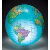 "<strong>Learning Resources</strong> 12"" Inflatable Globe with Light"