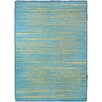17 Magazine Rugs Flirty Blue / Gold Kids Rug