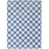 17 Magazine Rugs Flirty Navy Polka Dot Kids Rug