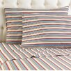 <strong>Micro Flannel® Awning Stripe Sheet Set</strong> by Shavel Home Products