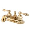 <strong>Elements of Design</strong> Elizabeth Centerset Faucet with Double Lever Handles