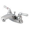 Elements of Design Magellan Centerset Faucet with Double Lever Handles