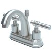 Milano Centerset Bathroom Faucet with Double Lever Handles