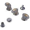Elements of Design Triple Triple Handle Vertical Spray Bidet Faucet