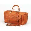 "<strong>Claire Chase</strong> Millionaire's 24"" Leather Carry-On Duffel"
