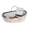 <strong>Doodlefish</strong> Bubbles Moses Basket Set