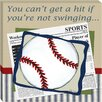 <strong>Doodlefish</strong> Sports Baseball in the News Giclee Canvas Art
