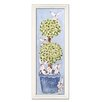 <strong>Bunny Topiary Giclee Framed Art</strong> by Doodlefish