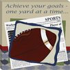 <strong>Doodlefish</strong> Sports Football in the News Giclee Canvas Art