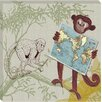 <strong>Doodlefish</strong> Safari Monkey Safari Giclee Canvas Art