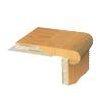 """APC Cork 1.06"""" x 3.5"""" Birch Stair Nose Trim in Hematite"""