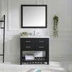 """Virtu Caroline Estate 37"""" Single Bathroom Vanity Set"""