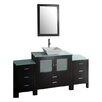 """Virtu Brentford 71"""" Bathroom Vanity Set with Single Sink"""
