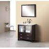 """Virtu Felice 35"""" Bathroom Vanity Set with Single Sink"""