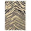 Linon Rugs Moroccan Sahara Ivory/Black Rug