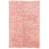 Linon Rugs Flokati Pastel Pink Area Rug