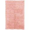 Linon Rugs Flokati Pastel Pink Rug