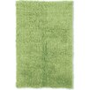 Linon Rugs Flokati Lime Green Area Rug