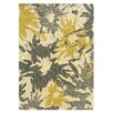 <strong>Linon Rugs</strong> Le Soleil Ivory/Yellow Outdoor Rug