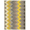 Linon Rugs Trio Chevron Area Rug