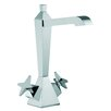 <strong>Fima by Nameeks</strong> Mp1 Single Hole Bathroom Sink Faucet with Double Cross Handles