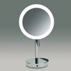 <strong>Windisch by Nameeks</strong> Free Standing 3x Magnifying LED Mirror with Sensor