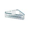 Basket Large Corner Bottle / Sponge Holder in Chrome
