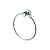 Luna Towel Ring in Chrome
