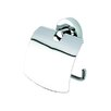 Luna Toilet Paper Holder with Cover in Chrome