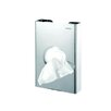 <strong>Standard Hotel Bag Dispenser in Stainless Steel</strong> by Geesa by Nameeks