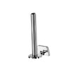 Geesa by Nameeks Standard Hotel Double Spare Toilet Paper Roll Holder in Chrome
