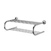 "Standard Hotel 25.39"" Towel Shelf with Towel Bar in Chrome"