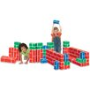 <strong>Educational Insights</strong> PlayBrix Cardboard Building Bricks - Set of 54 Assorted