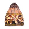 """<strong>6"""" English Ivy Glass Bell Pendant Shade</strong> by Landmark Lighting"""
