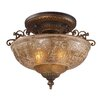 "<strong>19"" Restoration 3 Light Semi Flush Mount</strong> by Landmark Lighting"