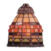 "<strong>Landmark Lighting</strong> 5.5"" Mix-N-Match Glass Bell Pendant Shade"