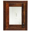 "<strong>Fireside Lodge</strong> Barnwood 18"" x 22"" Recessed Medicine Cabinet"