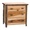 <strong>Hickory 3 Drawer Chest</strong> by Fireside Lodge