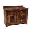 "<strong>Fireside Lodge</strong> Reclaimed Barnwood 36"" Bathroom Vanity Base"