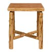 Traditional Cedar Log Square Pub Table