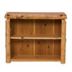 Traditional Cedar Log Bookcase