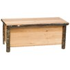 Fireside Lodge Hickory Trunk Blanket Chest