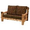 Fireside Lodge Traditional Cedar Log Loveseat