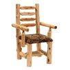 <strong>Fireside Lodge</strong> Traditional Cedar Log Armchair