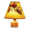 "<strong>Fireside Lodge</strong> 21"" Hickory Empire Lamp Shade"