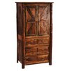 <strong>Fireside Lodge</strong> Reclaimed Barnwood Armoire