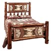 Fireside Lodge Adirondack Slat Bed
