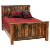 Fireside Lodge Reclaimed Barnwood Panel Bed