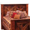 <strong>Reclaimed Barnwood Panel Headboard</strong> by Fireside Lodge